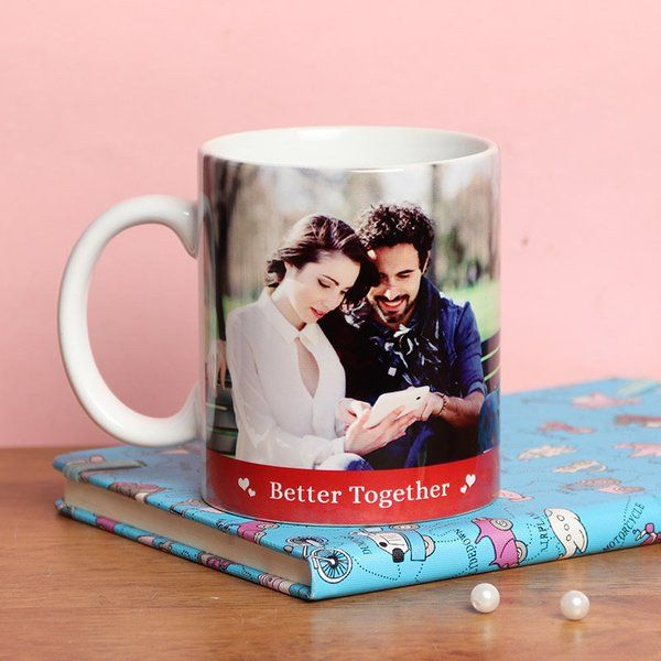 FlowerAura Better Together Mug Personalized Valentines Gifts