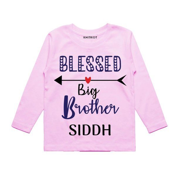 Knitroot Blessed as Big Brother Baby Wear T-Shirts 13 Year Old Gifts For Boys