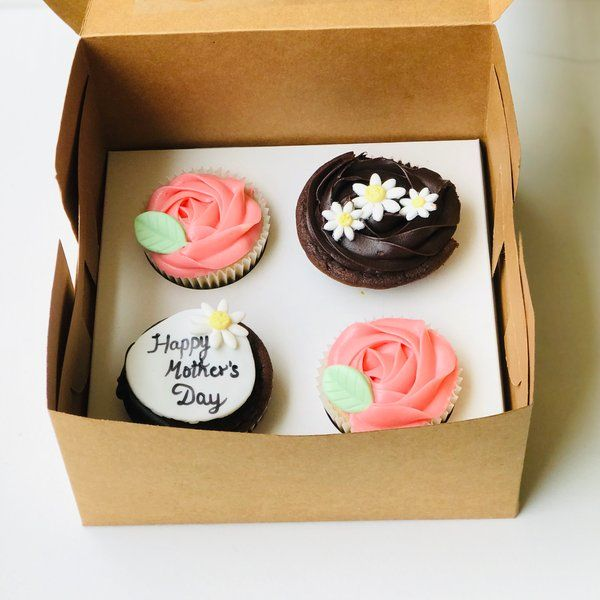 Sprinkles Box Of 4 Assorted Cupcakes Gifts Under 500