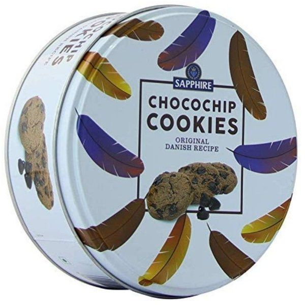 Sapphire  Chocochip Cookies Original Danish Recipe 150g  Special Gift For Boyfriend On His Birthday
