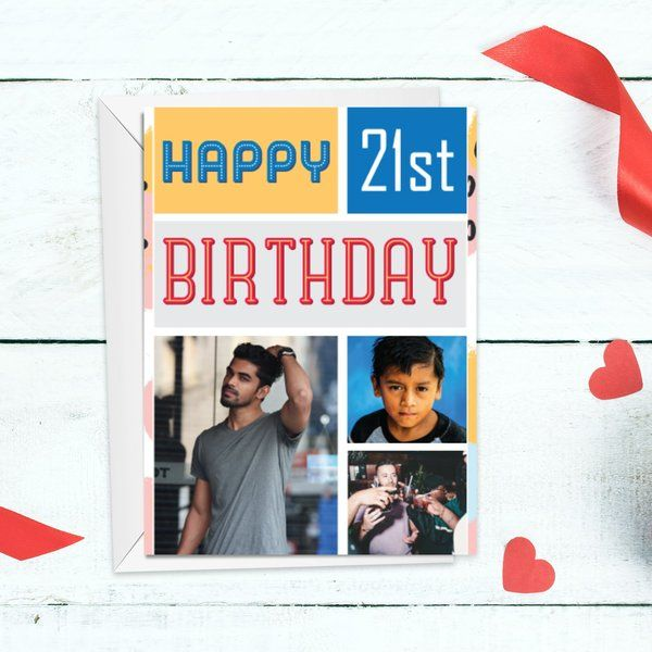 Husband First Birthday After Marriage Customized Birthday Greeting Card