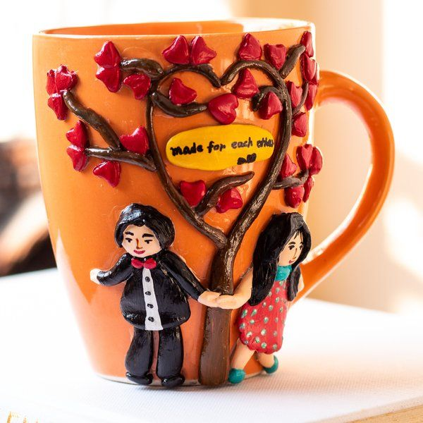 Hitchki Couple Themed Coffee Mug Coffee Mugs For Husband