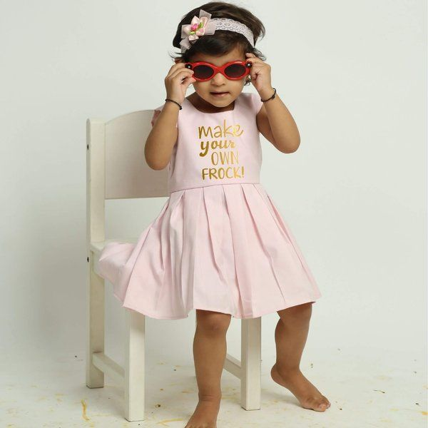 Knitroot Fully Customized Frock for Girl Gifts For 6 Years Old Girl