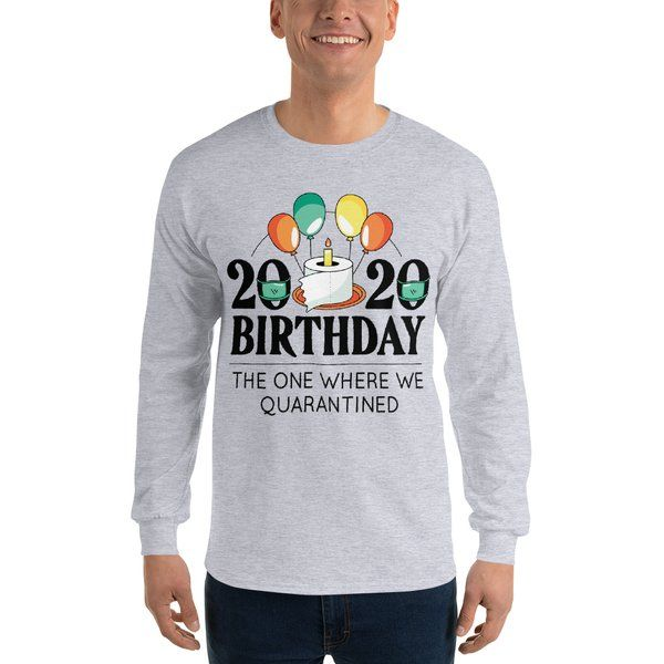 Privy Express Funny 2020 Quarantine Birthday T-shirt for Men Funny Gifts For Brother