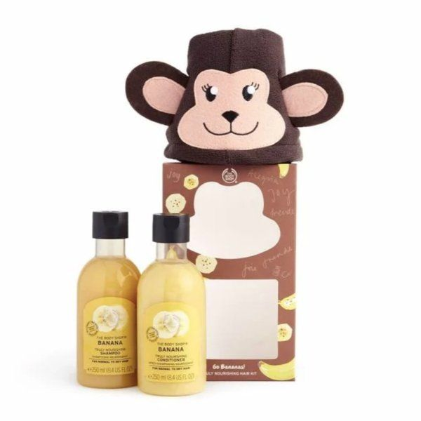 The Body Shop Go Bananas Truly Nourishing Hair Kit Valentines Day Combo Gifts