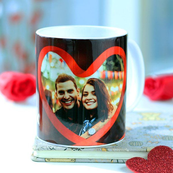 FlowerAura In The Heart Couple Mug Unique Valentines Day Gifts For Him