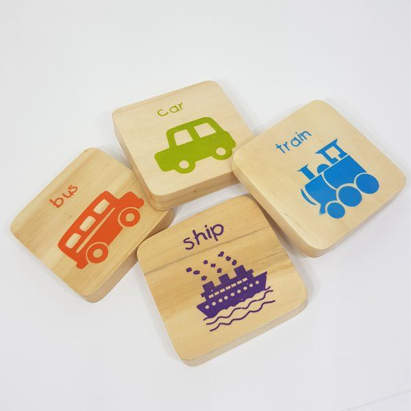 Ivei IVEI Educational Vehicle Magnets For Kids Useful Gifts For Kids
