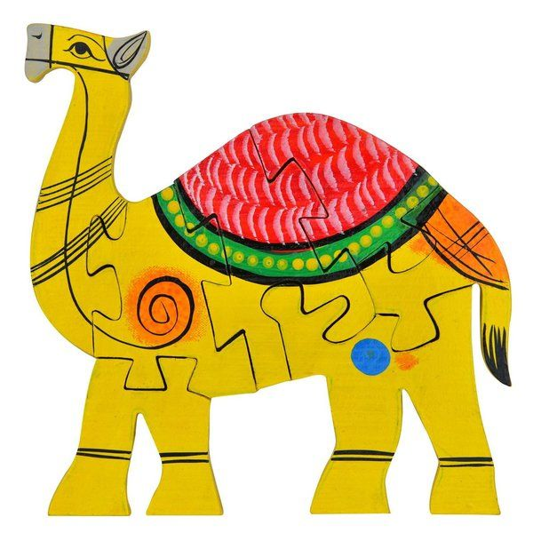FineCraftIndia  Jigsaw Puzzles Camel Shaped Gifts For 9 Year Old Girls
