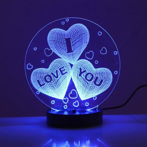 FlowerAura Lit I Love You Unique Valentines Day Gift