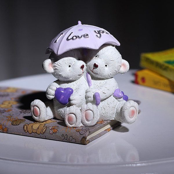 FlowerAura Love You Bear Surprise Gifts For Husband