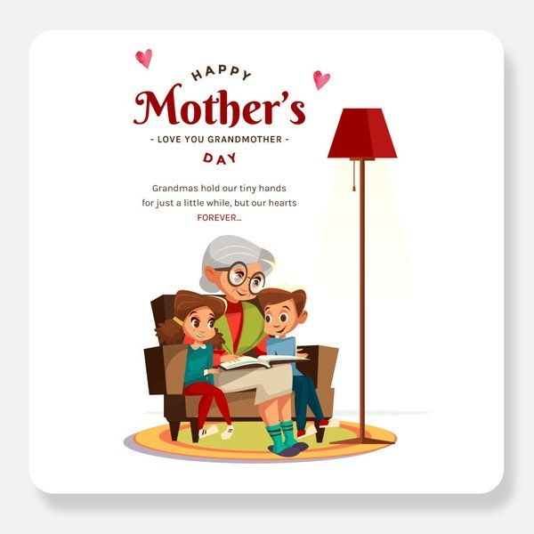 Love You Grandmother Greeting Card Gift Items Under 10 Rupees