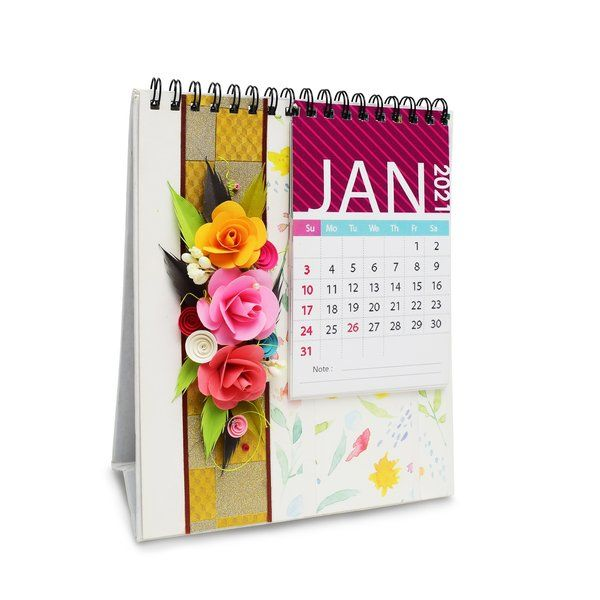 Swapnil Arts New Year 2021 Desk Table Calendar New Year Gift For Husband