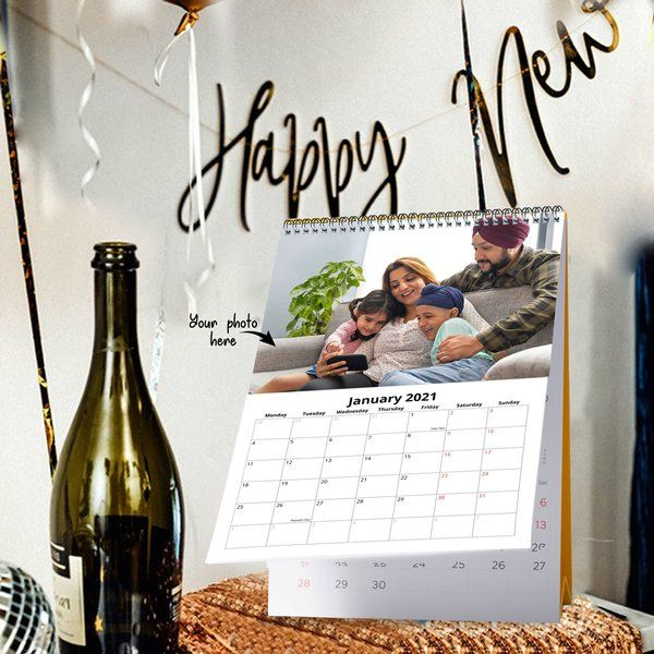 New Year Table/ Desk Calendar Custom Corporate Gifts