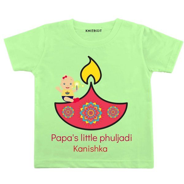 Knitroot Papa's Little Phuljadi Baby Wear T-Shirts 13 Year Old Gifts For Boys