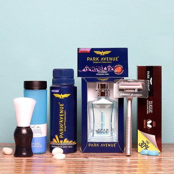 FlowerAura Park Avenue Men's Kit 10th Anniversary Gift For Husband