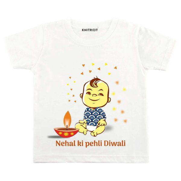 Knitroot Pehli Diwali Design Baby Wear T-Shirts 13 Year Old Gifts For Boys