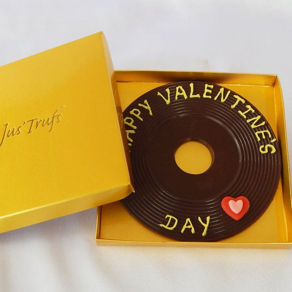 Jus'Trufs Chocolatiers  Personalise Your Chocolate Valentine  Unique Birthday Gifts For Best Friend