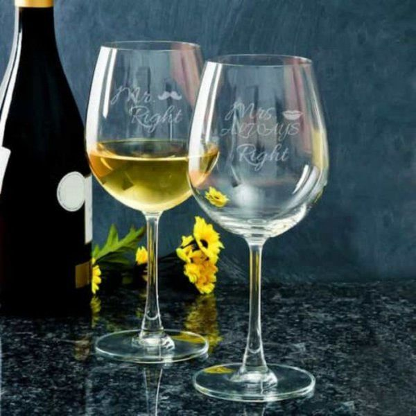 Dottedi Personalized Wine Glasses Gift For Male Best Friend