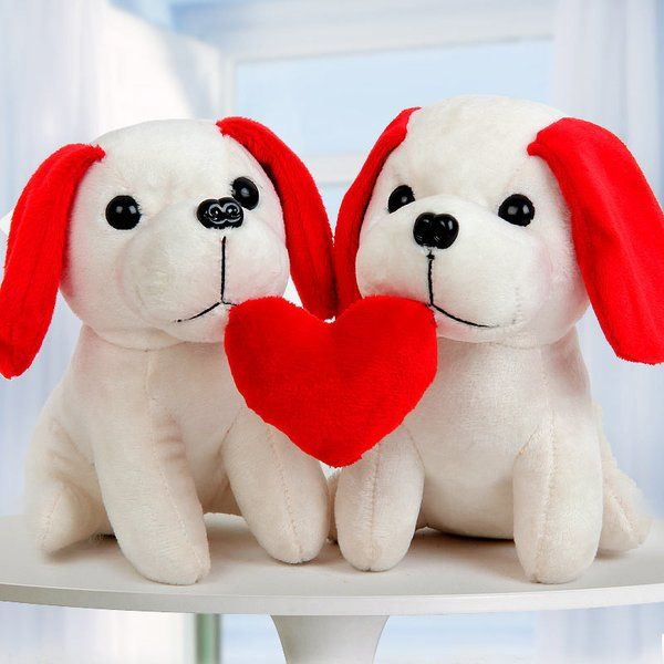 FlowerAura Puppies In Love  Cute Gifts For Best Friend