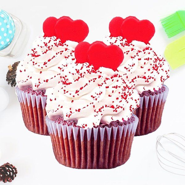 CakeZone Red Velvet Cupcakes Cheap Gifts For Friends