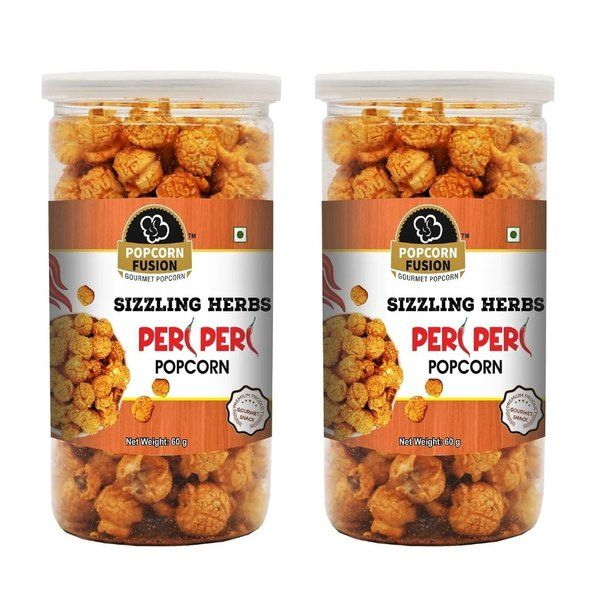 Popcorn Fusion Sizzling Herbs Peri Peri Popcorn Pack of Two 10 Years Old Girl Birthday Gift