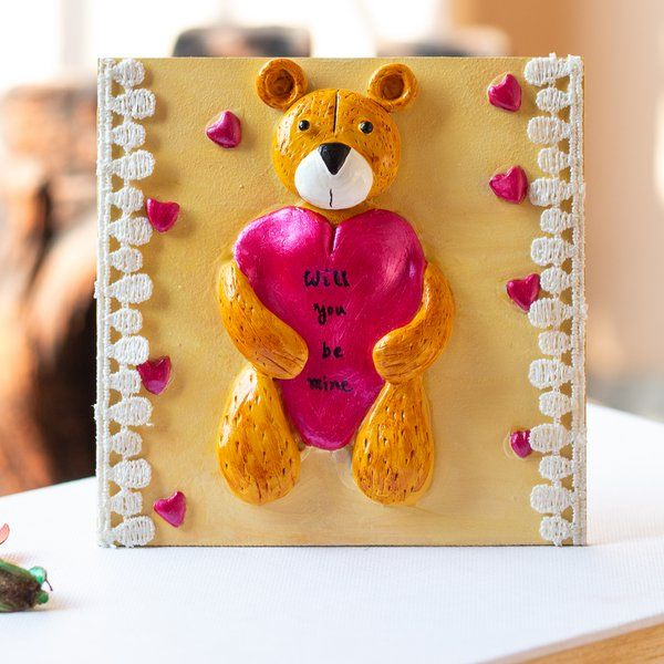 Hitchki Teddy Bear Themed Fridge Magnet Gifts For Toddlers