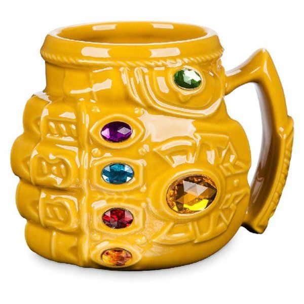 zestaindia Thanos Mug 3D Coffee Mug Tea Cups Gift for Superhero Lovers Small Gifts For Boys