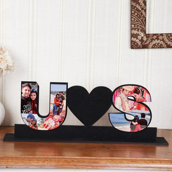 FlowerAura Us Tabletop Picture Frame First Gift For Boyfriend