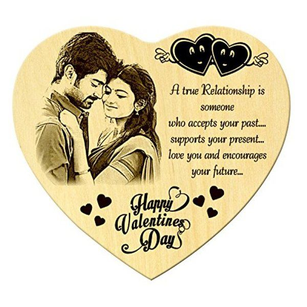 Incredible Gifts Valentines Day Gift Heart Shaped Personalized Plaque  Romantic Anniversary Gifts For Husband