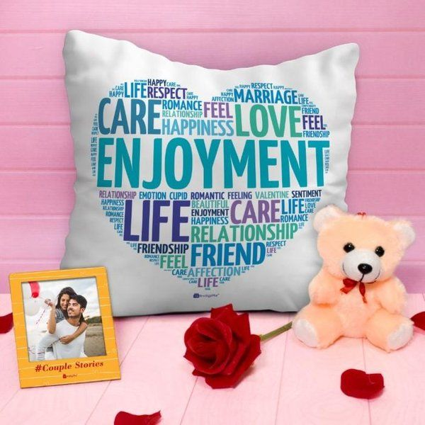 Indigifts Valentines Hamper For Couples Small Gifts For Girlfriend