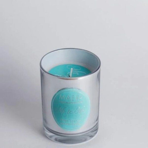 TheMaevaStore Wedding Metallic Glass Candle Small Gifts For Girlfriend