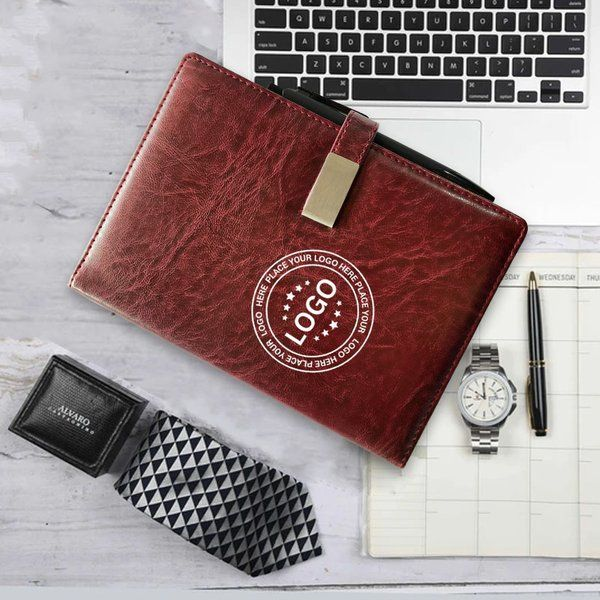 Privy Express Wine Red PU Leather Journal with Pen and Magnetic Closure - Customizable with Company Logo and Message Corporate Gifts For Womens Day