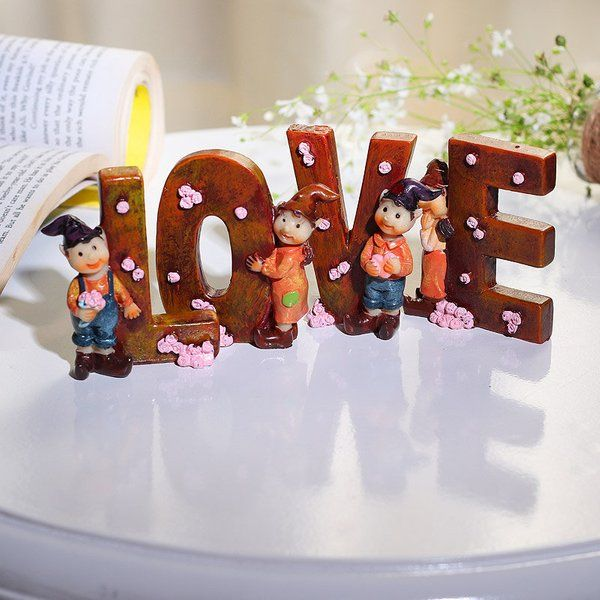 FlowerAura Wooden Token Of Love Cute Gifts For Boyfriend