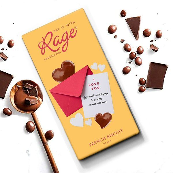 Rage Chocolatier You Make Me Happy  Happy Propose Day Gift