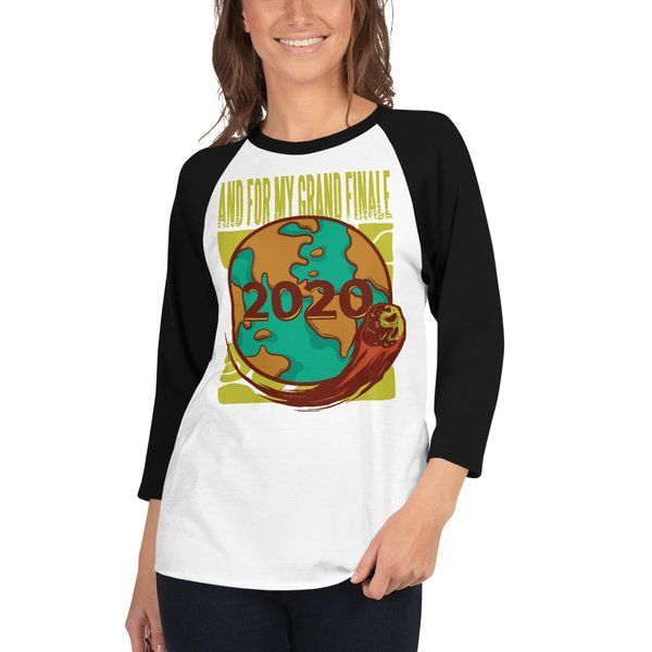 Privy Express 2020 Grand Finale Raglan Graphic T-shirt for Women Funny Gifts For Friends