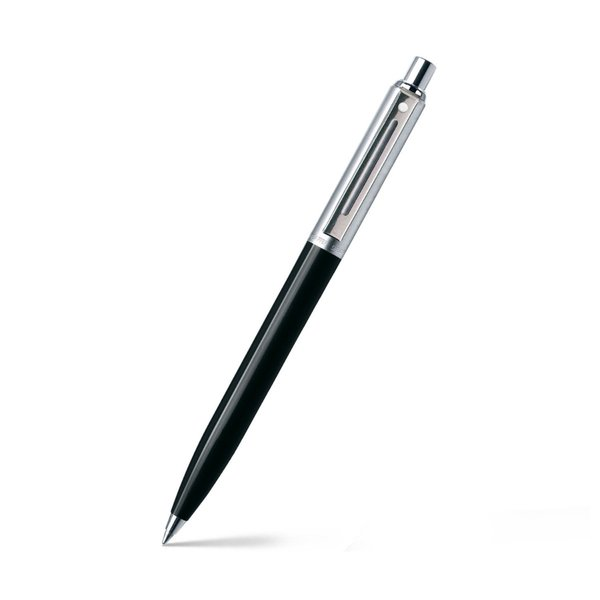 Sheaffer 321 Sentinel Ballpoint Pen - Black With Chrome Trim Useful Gifts For Dad