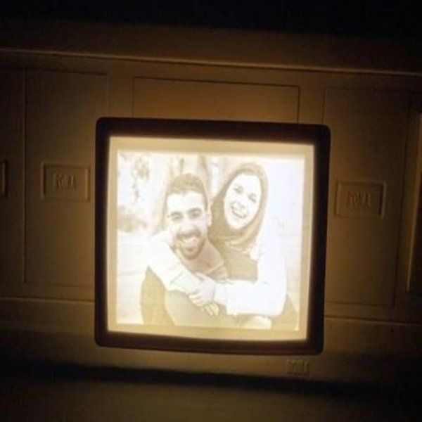 Soch3D 3D Photo Night Plug Gifts For Couple Friends