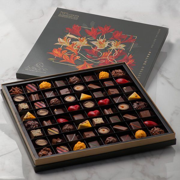Smoor 64 Piece Couverture Chocolate Box 25th Anniversary Gift Ideas For Husband