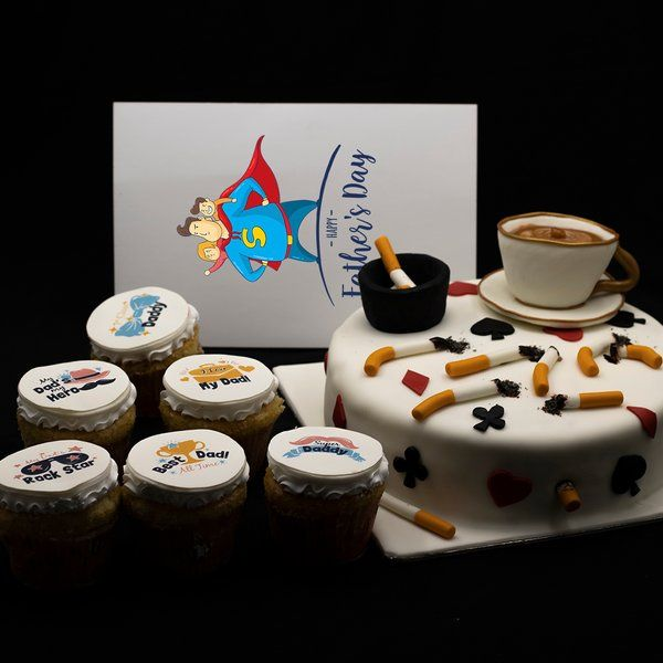 CakeZone Addicted Dad Gift Hamper 50th Birthday Gift Ideas For Dad