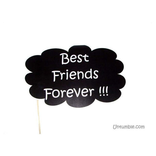 Untumble Best Friends Forever Photo Prop Friendship Day Gifts For Girls