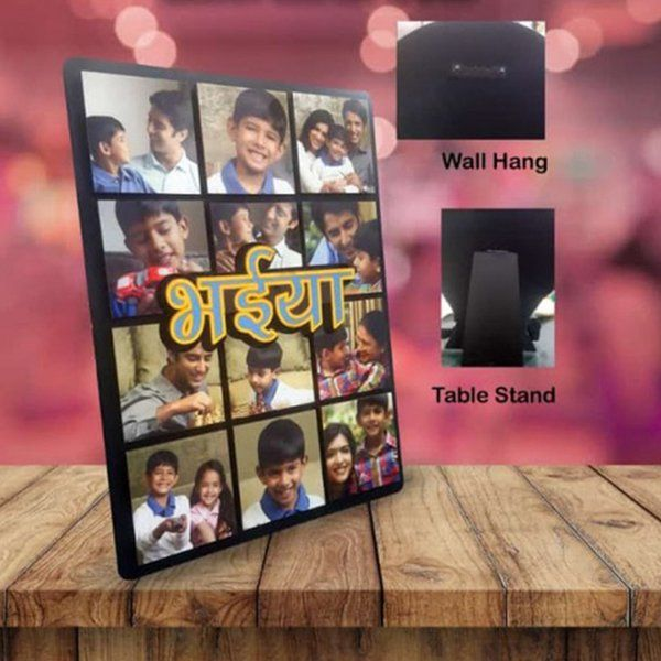 Waah Craft Bhaiya Personalized Relation Frame Special Gift For Brother