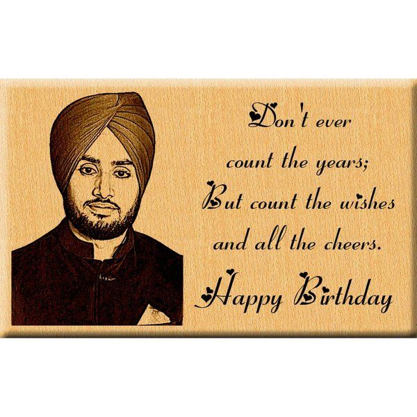 Incredible Gifts Birthday Gift Engraved Photo Plaque for Him Personalised Rakhi Gifts For Brother