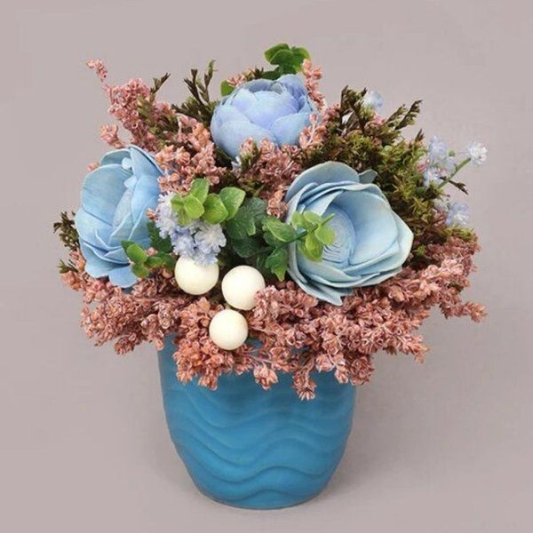 TheMaevaStore Blue Paradise Table Decor Unique Gifts For Friends