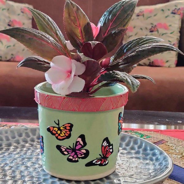 EitherOrr Butterfly Planter Small Gifts For Mom