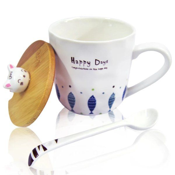 zestaindia Ceramic Coffee Mug - Happy Days Cute Gifts For Best Friend