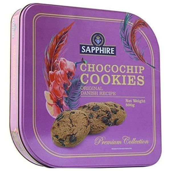 Sapphire Chocochip Cookies Premium Collection 500g  First Gift For Wife
