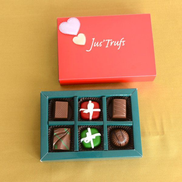 Jus'Trufs Chocolatiers Chocolate Celebrations First Gift For Wife