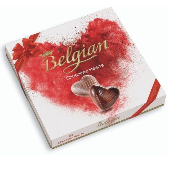 Belgian Chocolate Hearts 200g Gift Ideas For Girls