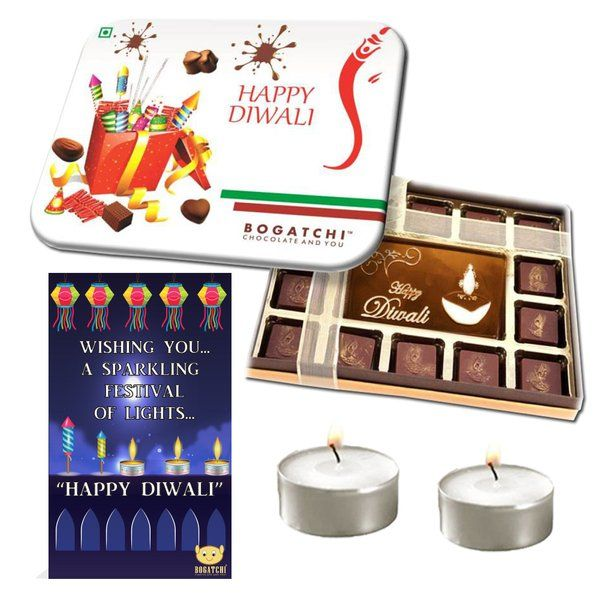 Chocolates Ganesha Crackles with Candles Best Corporate Diwali Gifts for Employees