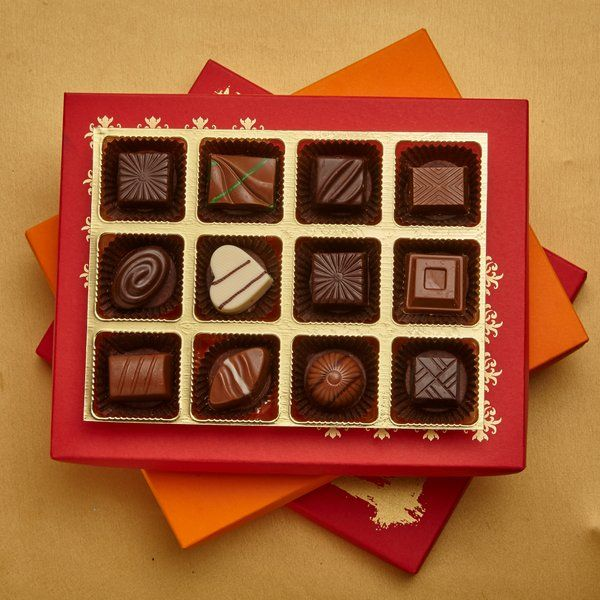 Jus'Trufs Chocolatiers Classic Chocolate Truffles Joy Box First Birthday Gift For Wife After Marriage